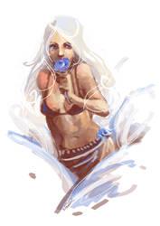 The Flower Girl by FeralTalent