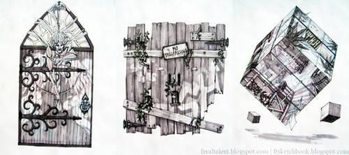 Doors Doors Doors by FeralTalent