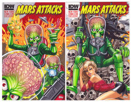 Mars Attacks New York Comic-Con by C-McCown