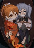 Kairi and Ryu by SharpFFFFFF