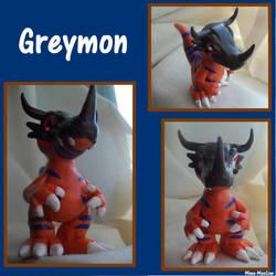 Greymon by Miwa-MooCow