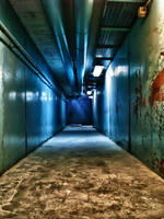 Corridor into the nothing by Steveewonder