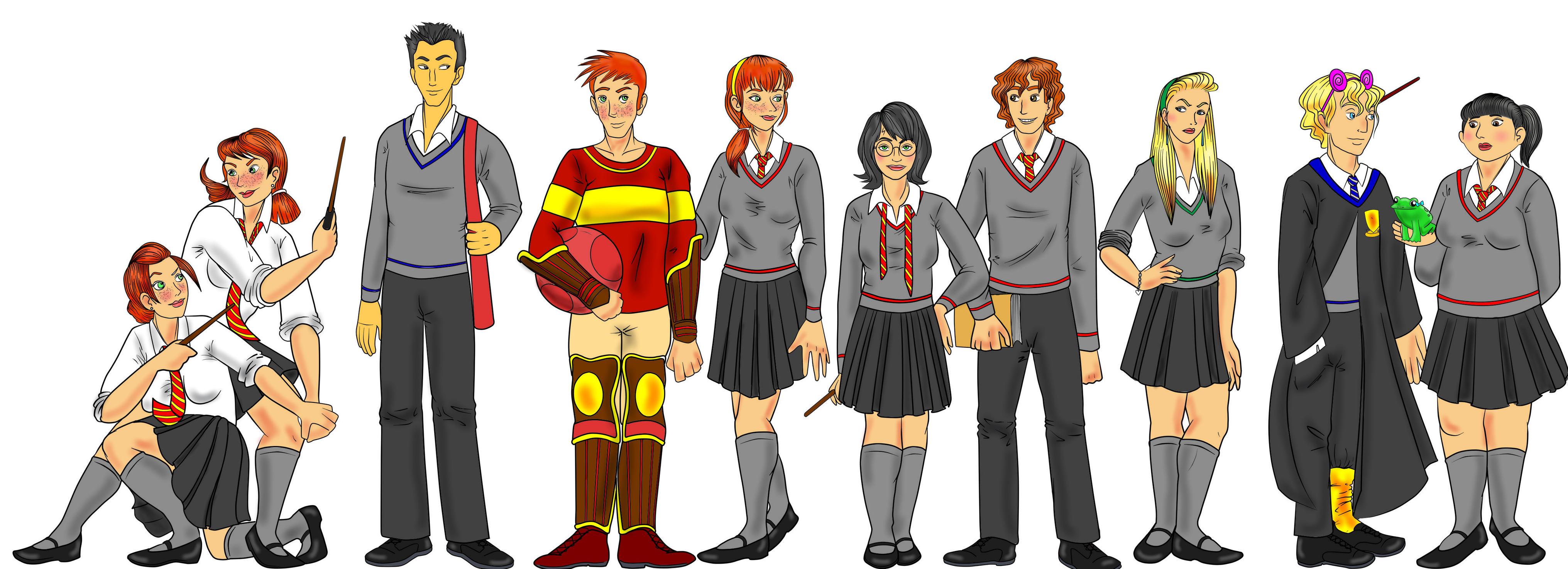Harriet Potter and the Gender Swap Hex Cl by Kimbawest