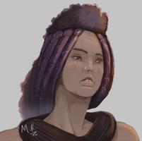 Owambo head fashion by Kandali