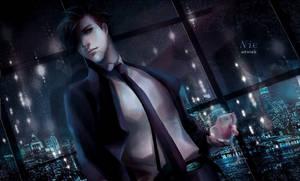 Romantic night by litaone