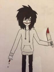 Jeff the Killer by ash-podsolnechnik