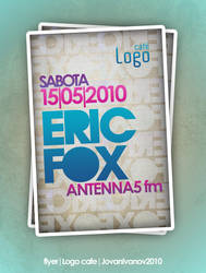 Dj Eric Fox by yovandesign