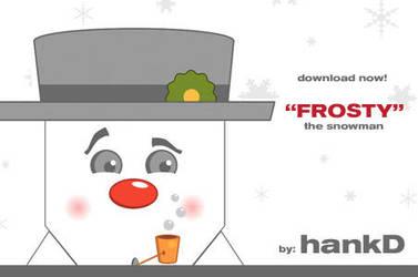 Frosty - blokhed by hankd