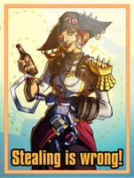 Captain Scarlett by Cenomancer
