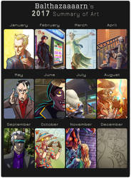 2017 Art Summary by Cenomancer