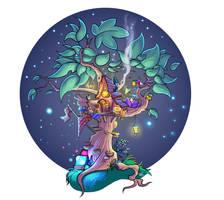 Tree House by Cenomancer