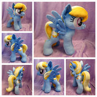 Cloud Kicker Plushie by equinepalette