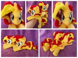 Sunset Shimmer Beanies x2 by equinepalette