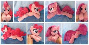 Pinkie/Pinkamena Beanie Plushies by equinepalette