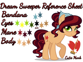 Dream Sweeper Reference Sheet by equinepalette