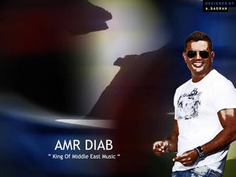 Amr Diab by Ahmed-Badran