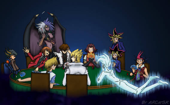 Poker game on the border of the shadow realm by ARCatSK