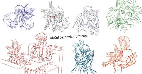Prideshipping Sketches by ARCatSK
