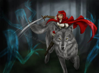 Red Riding Hood by ARCatSK
