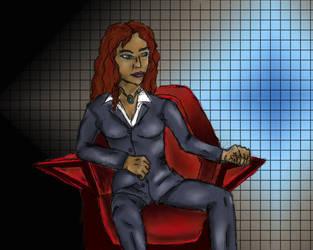 Abigail Seat of Power by Zandoz