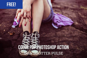 Free Color Pop Photoshop Action by shutterpulse