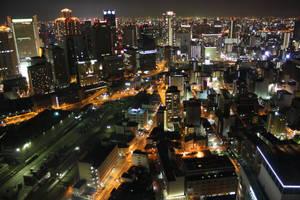 'Osaka Night Life' by Argel-sama