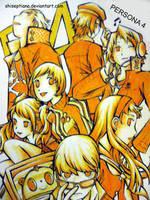 Persona 4 by ShiSeptiana