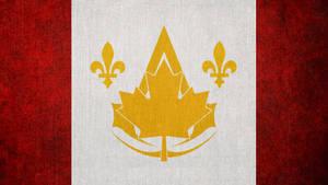 Assassin's Creed: Canadian Bureau Flag by okiir