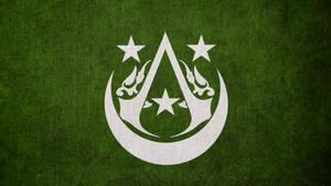 Assassin's Creed: Arabian Brotherhood Flag by okiir