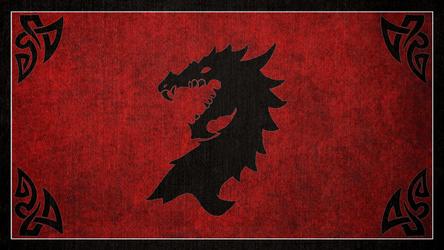 The Elder Scrolls: Flag of the Ebonheart Pact by okiir