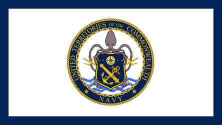 FALLOUT: Flag of the UTC Navy (simple) by okiir