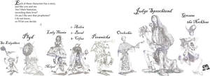 Character line-up by Sir-Pumpkinhead