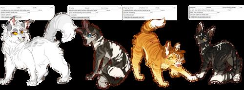 Warrior Cat| Auction| Generator | Open | [4/4] by DragonWarriorCat