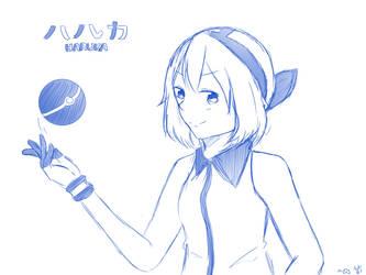 Pokemon: Sapphire by supertunacchi