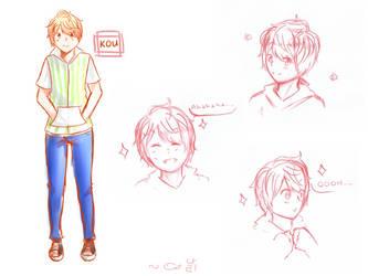 More Kou-chan! by supertunacchi