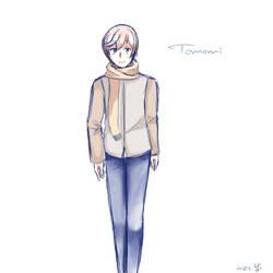 Tomomi Character Design by supertunacchi