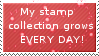 My stamp collection Stamp by Crystalstar1001