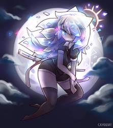 Moonstone Houseki no Kuni oc by crydiaa