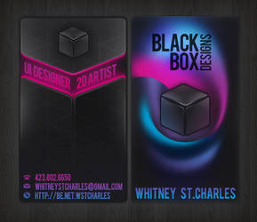 Black Box Designs by neyali