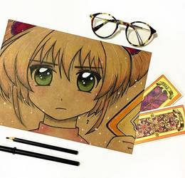 Sakura Card Captors by JadeGibi
