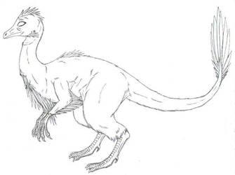 Dino chicken by Yourevillittlefriend