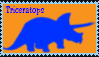 Triceratops Stamp by DinoLover09