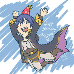 FE- Happy Birth Morgan! by Kilala04