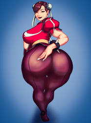 Chun Li want to show you something by MommyLexis