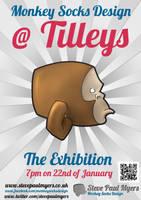 Monkey Socks Design at Tilleys by StevePaulMyers
