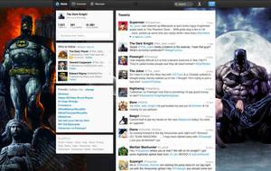 Batman on New Twitter by StevePaulMyers