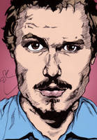 Heath Ledger in Colour by StevePaulMyers
