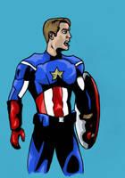 Captain America by StevePaulMyers