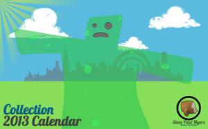 2013 Collection Calendar by StevePaulMyers