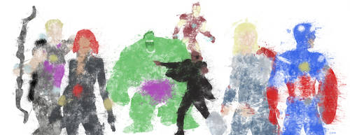 Avengers Colour Bomb by StevePaulMyers